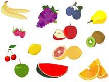 frukt isolerad white Fotografering för Bildbyråer