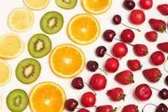 Frukt och bär royaltyfria foton