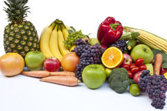 Frukt och grönsak royaltyfri bild