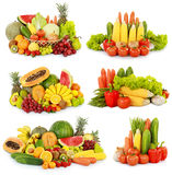 Frukt och grönsak arkivbilder