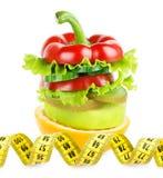 Frukt- och grönsakbunt Arkivfoton