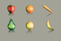 Frukt och grönsaker Arkivbilder