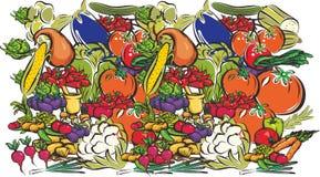 Frukt och grönsaker Royaltyfri Fotografi