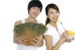 Frukt och hälsa Arkivbilder