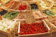 Frukt och Veg skärm Royaltyfri Bild