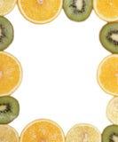 Frukt på whiten Royaltyfri Bild