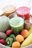 frukt- shake arkivfoto