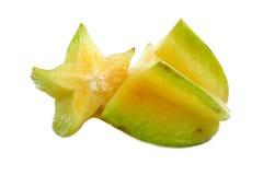 frukt skivad stjärna Arkivbild