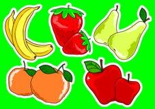 frukt två Arkivfoto