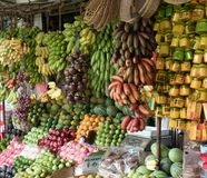 Fruktaffär Royaltyfria Foton