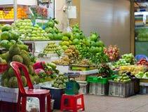 Fruktaffär Arkivfoto