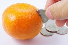 Fruktbank Arkivfoton