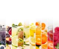 Fruktblandningband royaltyfri bild