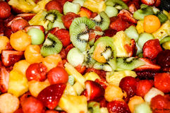Fruktbunke Arkivfoton
