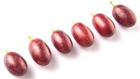 Fruktdropp för röd druva Arkivfoto