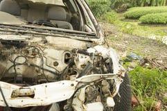 Fruktdryck för bilhaverikraschen dör sammanstötningen drucken skadeknipaförlust royaltyfria bilder