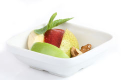Fruktefterrätt Royaltyfri Foto