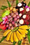 Frukter av Thailand Fotografering för Bildbyråer