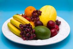 frukter blandade arkivfoton