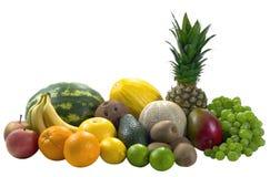 frukter blandar tropiskt Arkivfoton