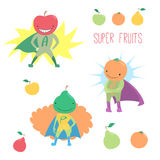 Frukter för toppen hjälte Royaltyfria Bilder