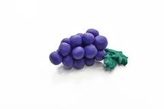 Frukter från plasticine Royaltyfri Foto