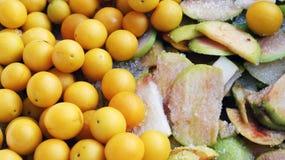 Frukter i socker Fotografering för Bildbyråer