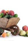 frukter isolerade grönsaker Arkivbilder
