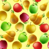 frukter mönsan seamless Arkivfoton