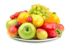 Frukter och grönsaker royaltyfri bild