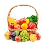 Frukter och grönsaker Arkivfoto