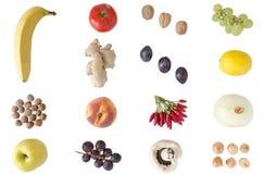Frukter och grönsaker Fotografering för Bildbyråer