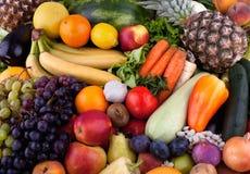 Frukter och grönsaker Arkivbilder