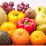 Frukter och grönsaker för ordning mogna Arkivfoto