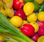Frukter och Veggies 1 fotografering för bildbyråer