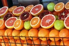 Frukter shoppar Royaltyfri Bild