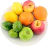 Frukter - vitaminer Fotografering för Bildbyråer