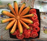 Fruktfärg Royaltyfri Fotografi