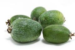 Fruktfeijoa - den organiska sunda produkten fotografering för bildbyråer
