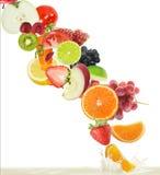 fruktfruktsaft Royaltyfri Fotografi