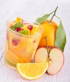 Fruktfruktsaft, coctail Royaltyfri Fotografi