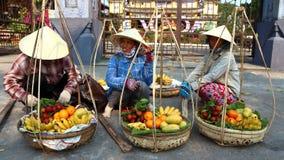 Fruktgatamarknad Arkivbilder