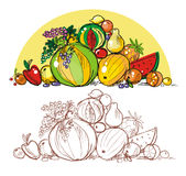 frukthög Royaltyfri Fotografi
