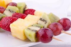 Fruktkebab arkivbild