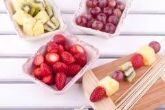 Fruktkebab Arkivbilder