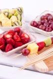 Fruktkebab Royaltyfria Bilder