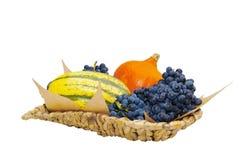 Fruktkorg arkivbild
