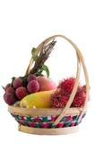 Fruktkorg Royaltyfria Bilder