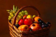 Fruktkorg Royaltyfria Foton