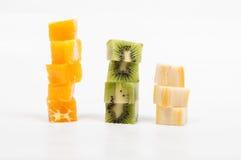 Fruktkuber Royaltyfri Bild